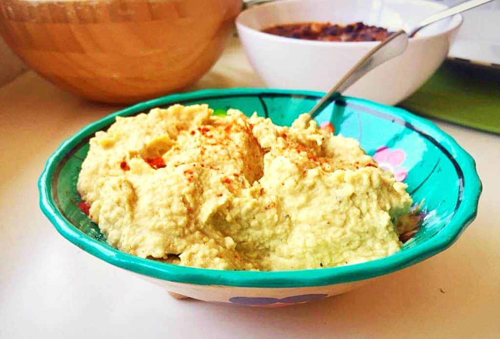 Pasta de grão-de-bico